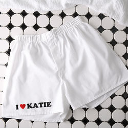 Lovin' It! Personalized Boxer Shorts