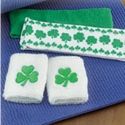Irish Wristband and Headband Set
