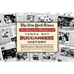 Tampa Bay Buccaneers History Newspaper