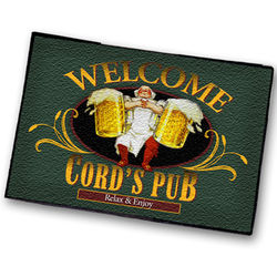Personalized Tavern / Pub Welcome Mat