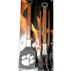 Clemson University BBQ Sportula Set