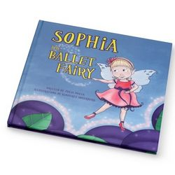 Personalized Ballet Fairy Book