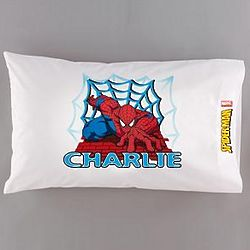 Personalized Spider-Man Pillowcase