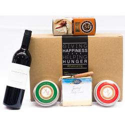 Cheese, Crackers and Wine Gift Box