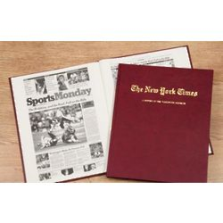 Personalized Book For Redskins Fan