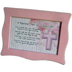 Baptism Prayer Music Box for Girl