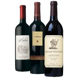 Napa Valley Cabernet Wine Tasting Trio