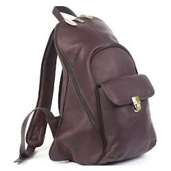 Aerodynamic Leather Backpack