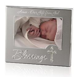 Religious Blessings 4x6 Picture Frame