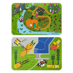 Garden or Construction Placemat