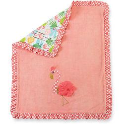Baby's Flamingo Beach Blanket