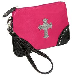 Cross Cosmetic Bag with Wristlet