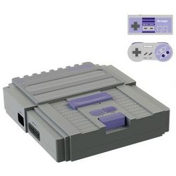Two-in-One Nintendo and Super Nintendo Video Gaming System