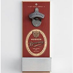 Bulldog Wall Bottle Opener