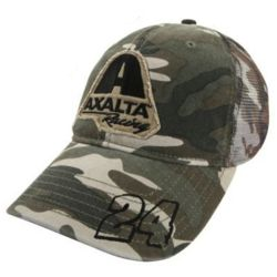 NASCAR Jeff Gordon #24 Salute Camo Hat