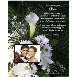 Personalized Wedding Poem for Daughter-In-Law