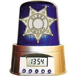 Sleep Squad Police Alarm Clock