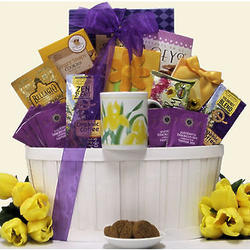 Zen Blend Gourmet Coffee and Tea Gift Basket