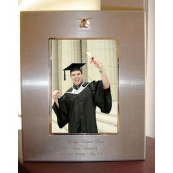 Personalized Matt Silver Graduation Picture Frame