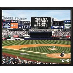 Personalized MLB Scoreboard New York Yankees 11x14 Canvas