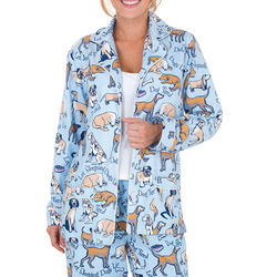 Dog Print Pajamas