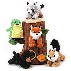 Enchanted Tree House Stuffed Animals