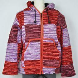 Fleece Lined Wool Space Dyed Hoodie