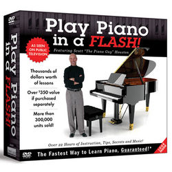 Play Piano in a Flash DVD