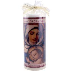 O Come All Ye Faithful Christmas Candle
