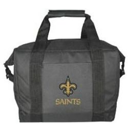 New Orleans Saints 12 Pack Cooler Bag