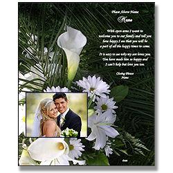 Daughter, Godchild, Niece Wedding Poetry Gift