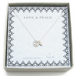 Love and Peace Necklace