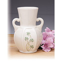 Parian China Shamrock Vase