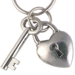 Key to My Heart Key Ring
