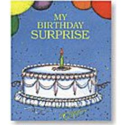 My Birthday Surprise Personalized Book