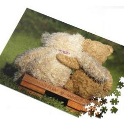 Two Teddy Bears Personalized Jigsaw Puzzle
