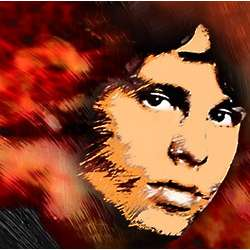 Jim Morrison Pop Art Print