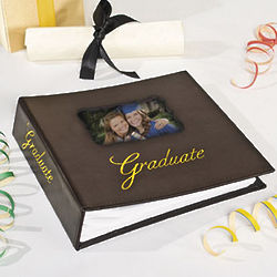 Leather Graduation Photo Album