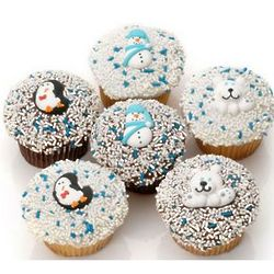Winter Gourmet Cupcakes