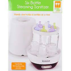 6 Baby Bottle Steaming Sanitizer