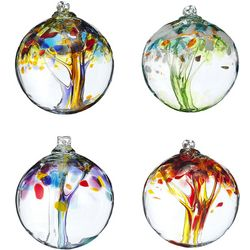 Recycled Glass Renewal Tree Globe