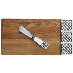 Celtic Mini Serving Board with Small Pate Knife
