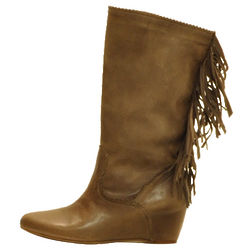 Killah Brown Leather Boot