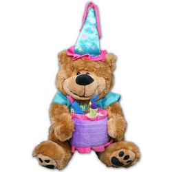 Happy Birthday Plush Teddy Bear