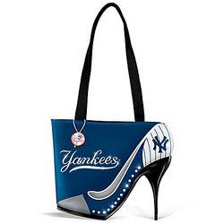 Kick Up Your Heels New York Yankees Fashion Handbag