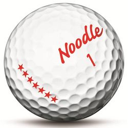 Dozen Noodle Long Golf Balls