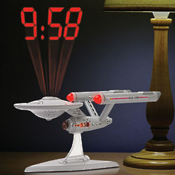Star Trek Enterprise Projection Clock