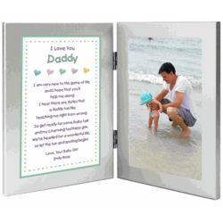 New Dad Personalized Poem from Baby in Frame