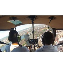 You Are the Helicopter Pilot Experience for One in Boston