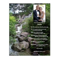 Personalized Wedding Poem for Son